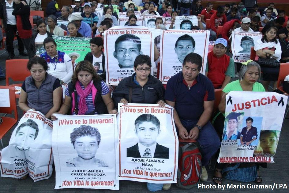 GIEI Press Conference, Vice News, Photo by Mario Guzman/EPA