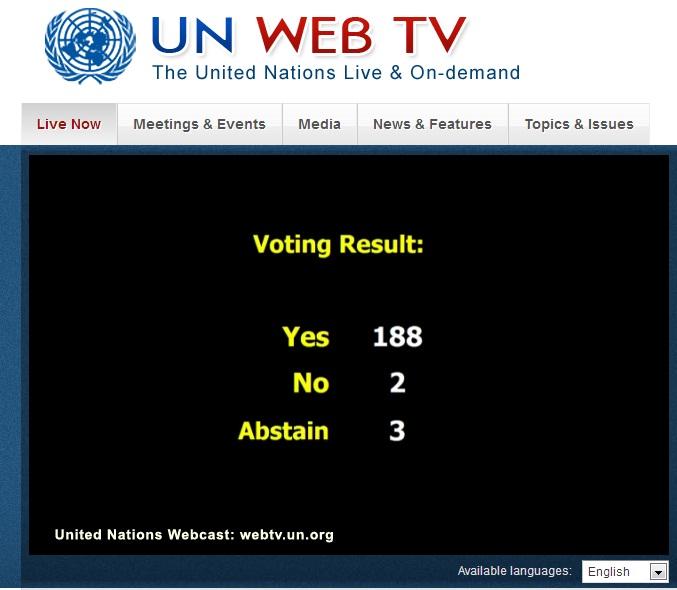 UN_Cuba_vote_2013_results